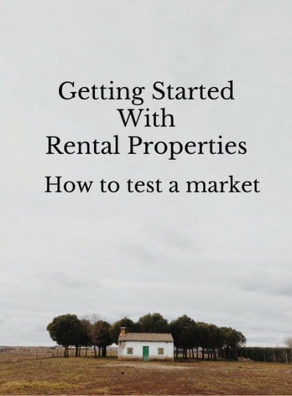 Getting Started with Rental Properties