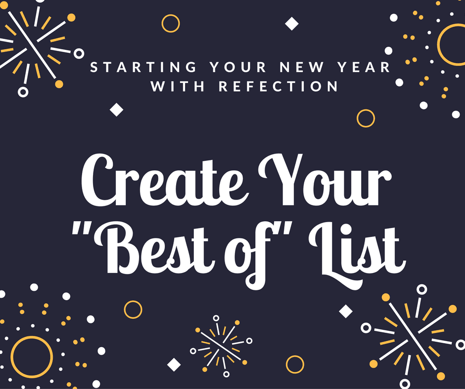 "Create Your ""Best of"" Yearly Review"