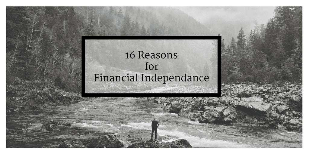 16 Reasons to become Financially Independent