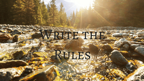 Write the Rules