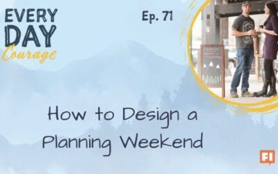 How to Design a Planning Weekend